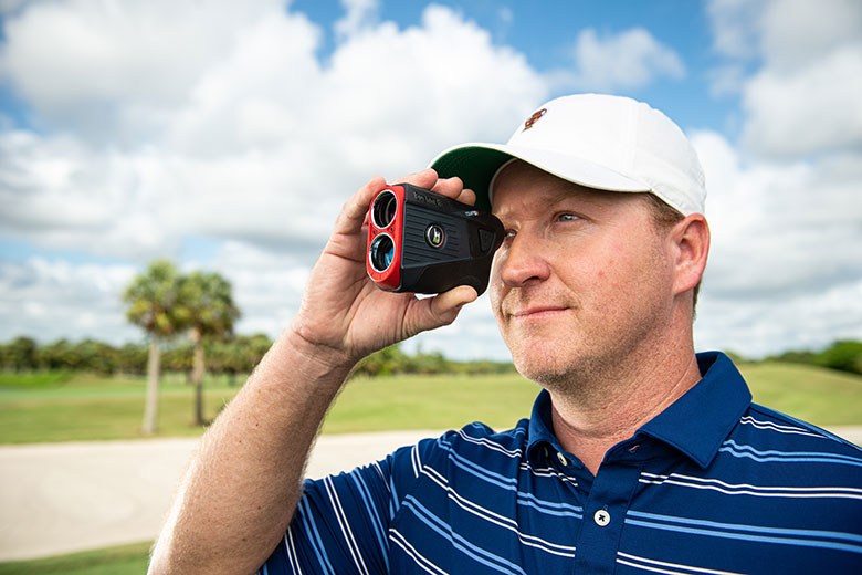 BUSHNELL TOUR V5 SHIFT SLIM GOLF LASER RANGEFINDER