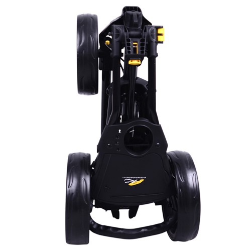 POWAKADDY TL4 TWINLINE 4 PUSH CART THREE WHEEL GOLF TROLLEY reverse