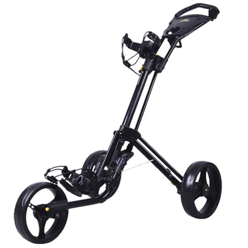 POWAKADDY TL4 TWINLINE 4 PUSH CART THREE WHEEL GOLF TROLLEY