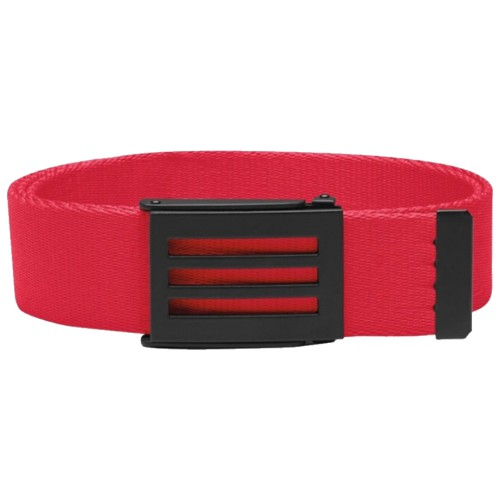 Adidas CLEARANCE 3-Stripes Buckle Performance Webbing Canvas Golf Belt - One Size