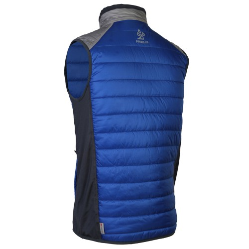 ProQuip Mens Therma Pro Quilted Full Zip Golf Gilet Vest reverse