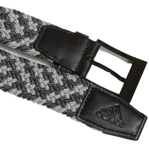 Adidas Golf Mens Braided Weave Stretch Belt reverse