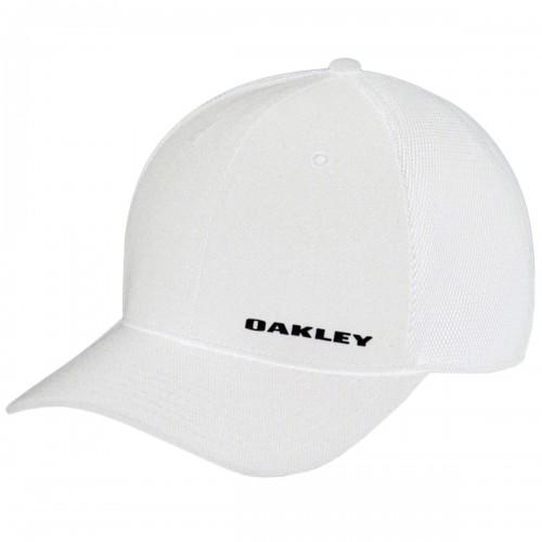 Oakley Men's Silicon Bark Trucker 4.0 Fitted Cap Sports Golf Hat