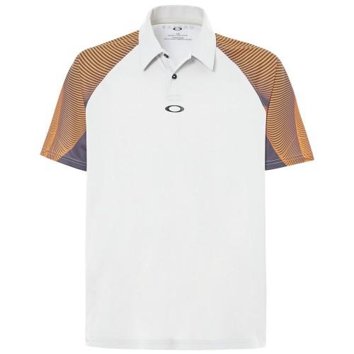 Oakley Mens Sport Aero Motion Sleeve Ohydrolix UPF 50+ Mesh Back Polo Shirt