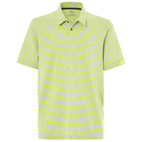 Oakley Mens Golf Speed Stripe Polo Shirt