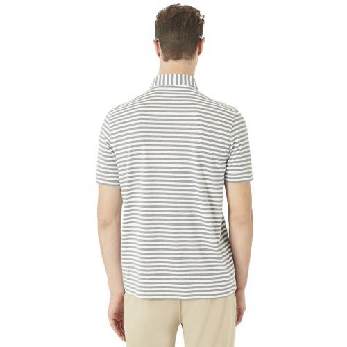 Oakley Mens Golf Speed Stripe Polo Shirt reverse