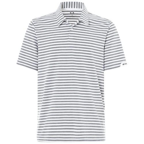 Oakley Mens Golf Speed Stripe Polo Shirt