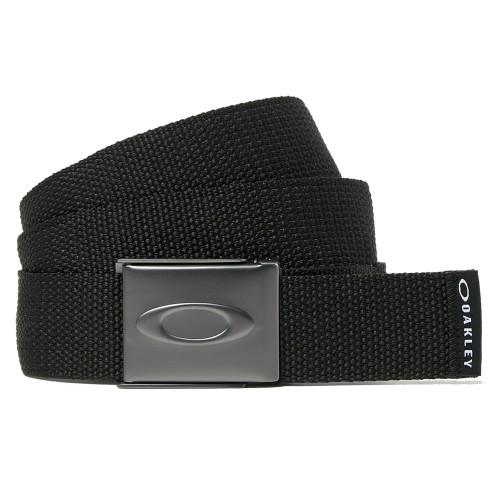 Oakley Golf Ellipse Mens Webbing Belt (Blackout)