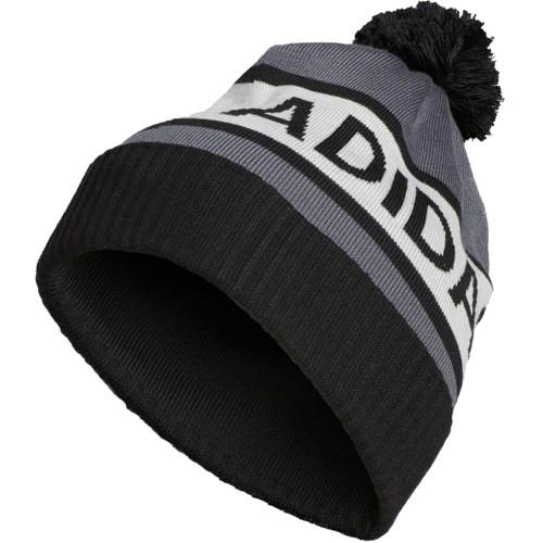 Adidas Climaheat Classic Golf Pom Pom Beanie Thermal Winter Hat