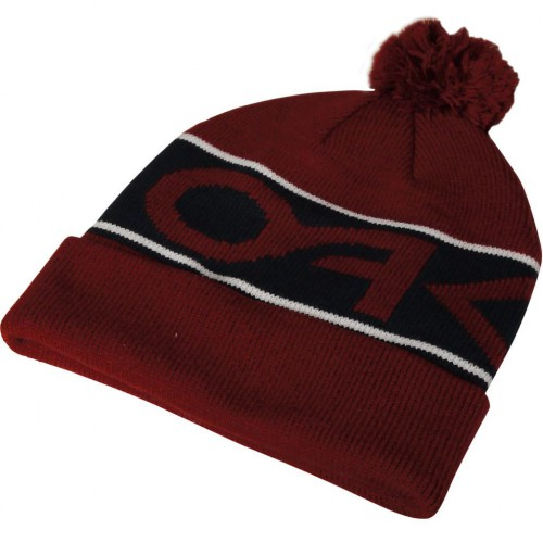 OAKLEY FACTORY CUFF THERMAL WINTER GOLF / SKI /SNOW BOBBLE BEANIE HAT