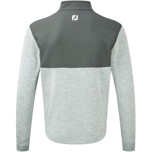 FootJoy Mens Chillout Xtreme Hybrid Pullover Jumper Sweater - Athletic Fit reverse