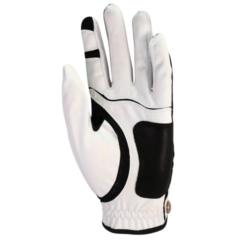 ZERO FRICTION GOLF GLOVE ONE SIZE COMPRESSION FIT MENS RIGHT HAND (LEFT HANDED GOLFERS) reverse
