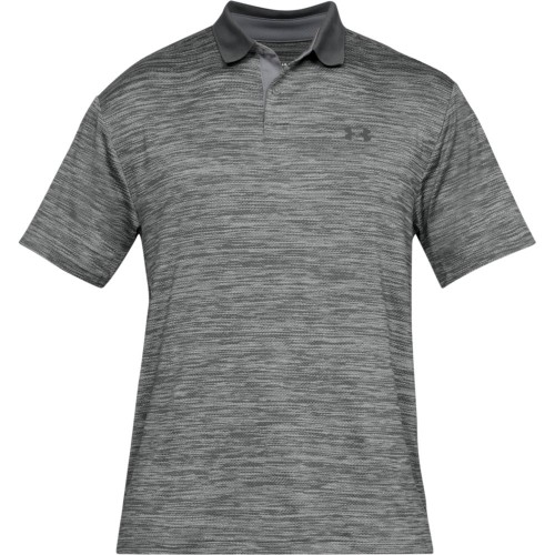 Under Armour Performance 2.0 Mens Golf Polo Shirt (Steel)