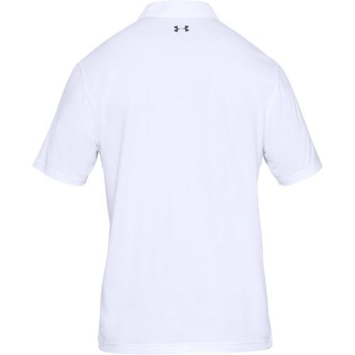 Under Armour Performance 2.0 Mens Golf Polo Shirt  - White