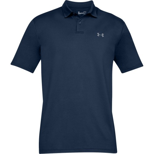 Under Armour Performance 2.0 Mens Golf Polo Shirt (Academy)