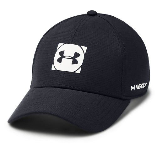 Under Armour Golf Official Tour 3.0 Mens Baseball Cap (Black/White)