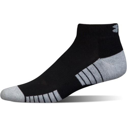 Under Armour Golf 2019 HeatGear Tech Low Cut Golf Sports Ankle Socks - 3 Pack reverse