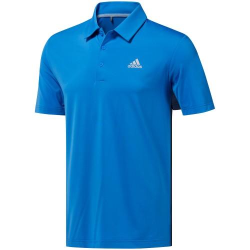 adidas Golf Ultimate 365 Solid Mens Short Sleeve Polo Shirt (True Blue)