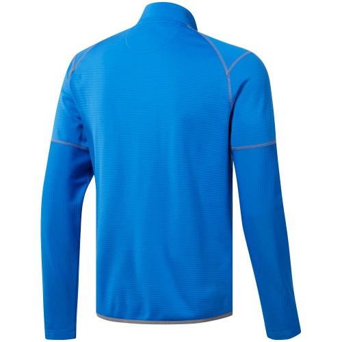 Adidas Golf Mens Climawarm Gridded 1/4 Zip Pullover Sweatshirt Top reverse