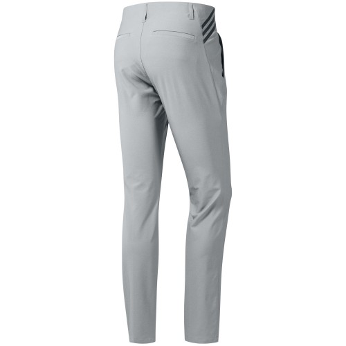adidas Ultimate 365 3-Stripes Tapered Mens Golf Trousers (Grey Two)