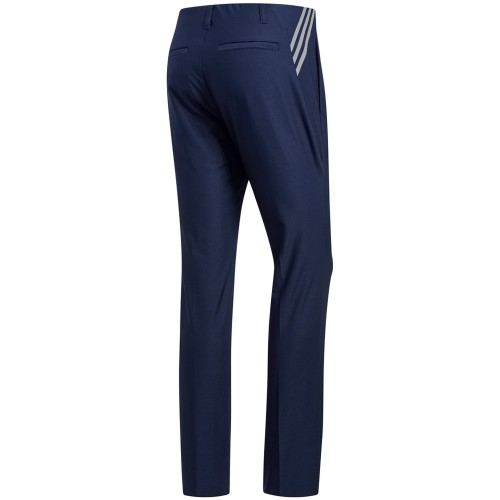 adidas Ultimate 365 3-Stripes Tapered Mens Golf Trousers (Collegiate Navy)
