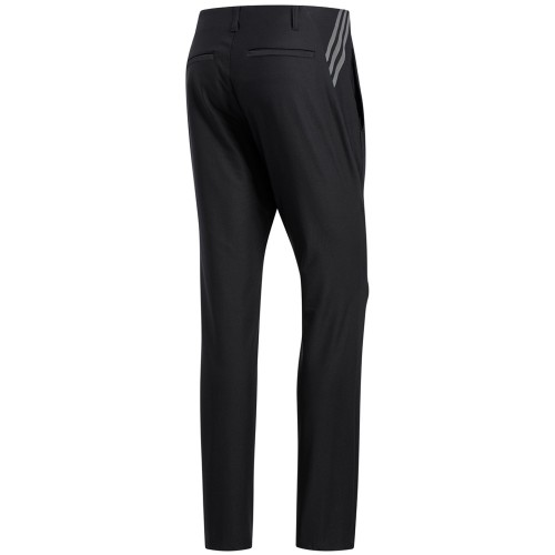 adidas Ultimate 365 3-Stripes Tapered Mens Golf Trousers (Black)