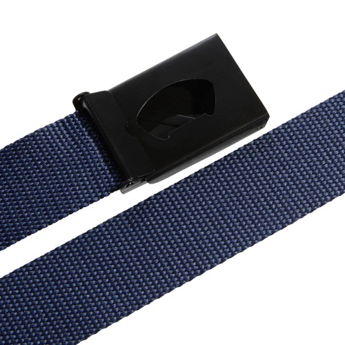 adidas 3-Stripes Buckle Webbing Golf Belt  - Collegiate Navy