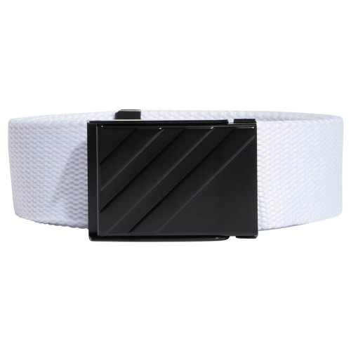 Adidas Mens 3-Stripes Buckle OSFA Webbing Performance Golf Belt