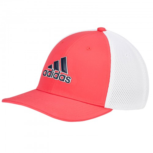 Adidas Mens A-Stretch Tour Fitted Golf Cap Breathable Mesh Baseball Hat