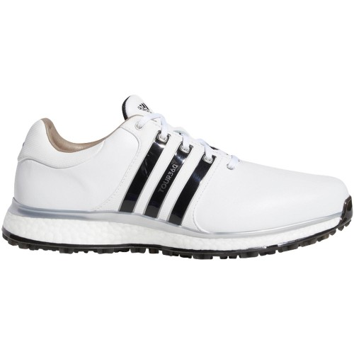 adidas Tour 360 XT-SL Waterproof Spikeless Mens Golf Shoes - Wide Fit  - White/Core Black
