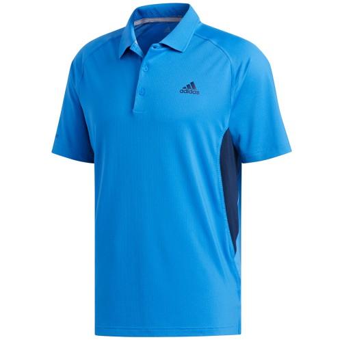adidas Golf Ultimate 365 Climacool Solid Mens Short Sleeve Polo Shirt (True Blue)