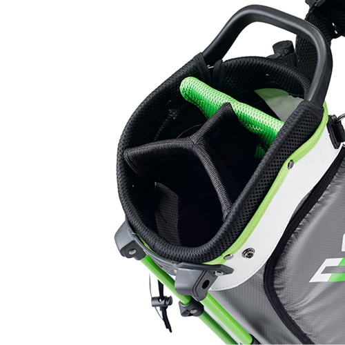 Volvik WP360 Waterproof Stand Carry Golf Bag Dual Strap reverse
