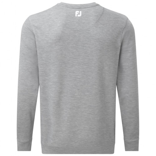 FootJoy Mens Spun Poly V-Neck Pullover Sweater Jumper - Athletic Fit reverse