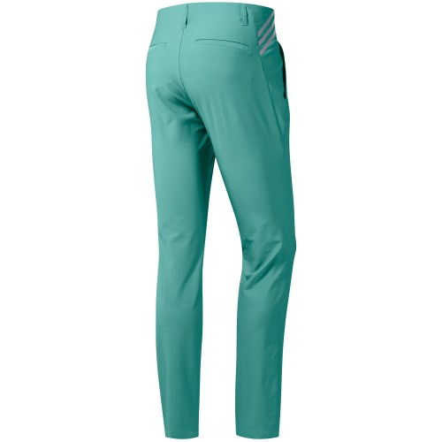 adidas Ultimate 365 3-Stripes Tapered Mens Golf Trousers (True Green)