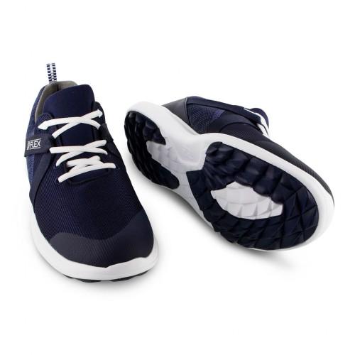 FootJoy Flex Mens Lightweight Mesh Spikeless Golf Shoes reverse