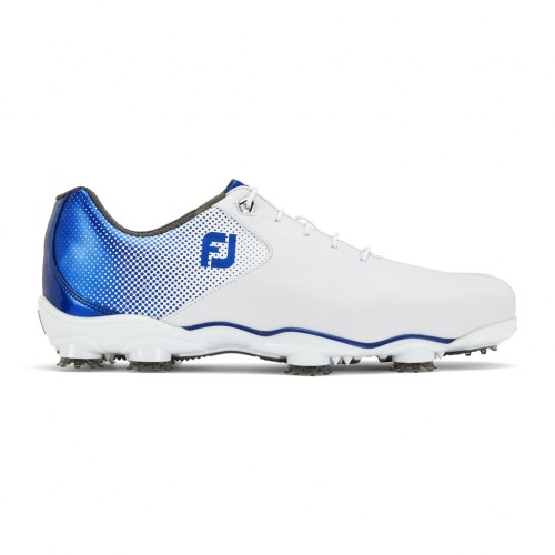 FootJoy Mens DNA Helix Waterproof Leather Golf Shoes (Regular & BOA Available)