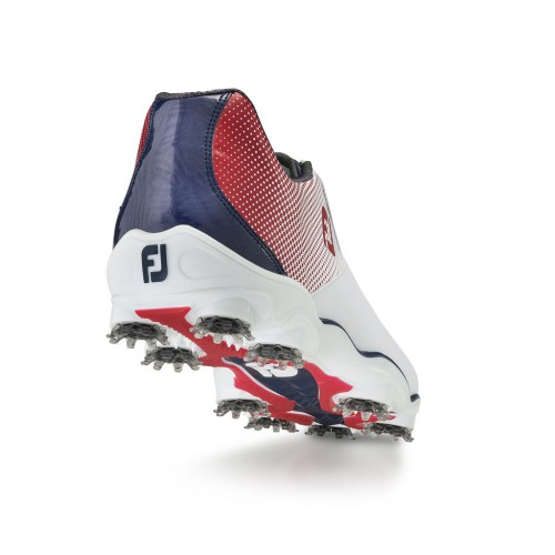 FootJoy Mens DNA Helix Waterproof Leather Golf Shoes (Regular & BOA Available) reverse