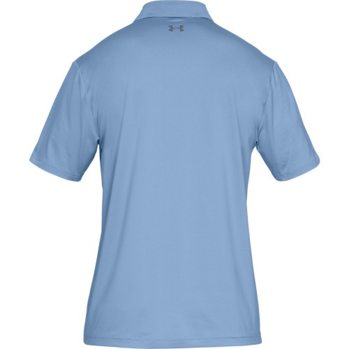 Under Armour Performance 2.0 Mens Golf Polo Shirt  - Boho Blue