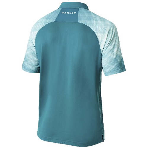 Oakley Barkie Gradient Golf Polo reverse