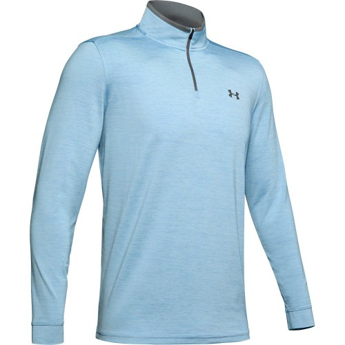 Under Armour Golf Playoff 2.0 1/4 Zip Mens Sweater (Boho Blue)