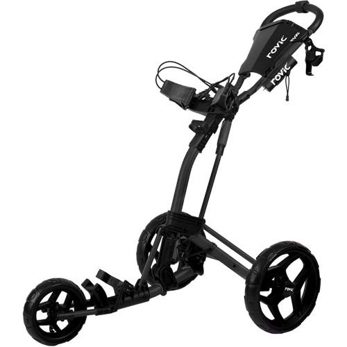 Clicgear Rovic RV2L Golf Trolley Push Cart  (Charcoal/Black)
