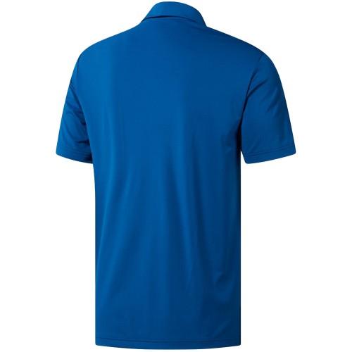 adidas Golf Ultimate 365 Solid Mens Short Sleeve Polo Shirt  - Dark Marine