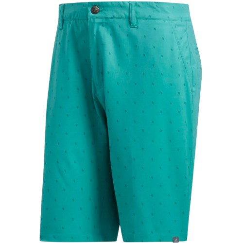 adidas Golf Ultimate365 Pine Cone Critter Print Shorts (True Green)
