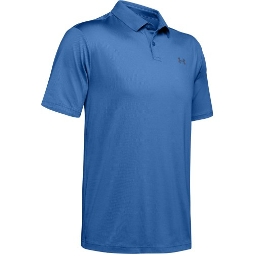 Under Armour Performance 2.0 Mens Golf Polo Shirt (Tempest)