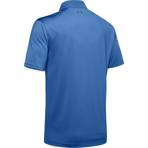 Under Armour Mens Performance 2.0 Smooth Stretch Golf Sports Polo Shirt reverse
