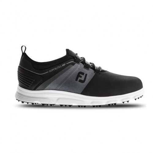FootJoy Mens Superlites XP Lightweight Waterproof Spikeless Golf Shoes