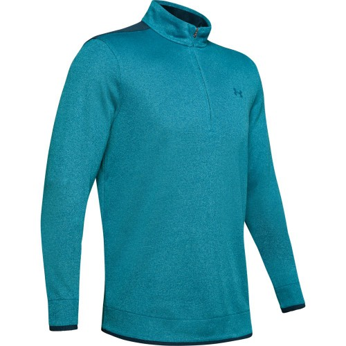 Under Armour Mens UA SweaterFleece 1/2 Zip Golf Top Pullover Jumper