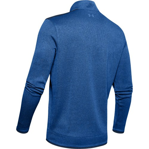Under Armour Mens UA SweaterFleece 1/2 Zip Golf Top Pullover Jumper reverse