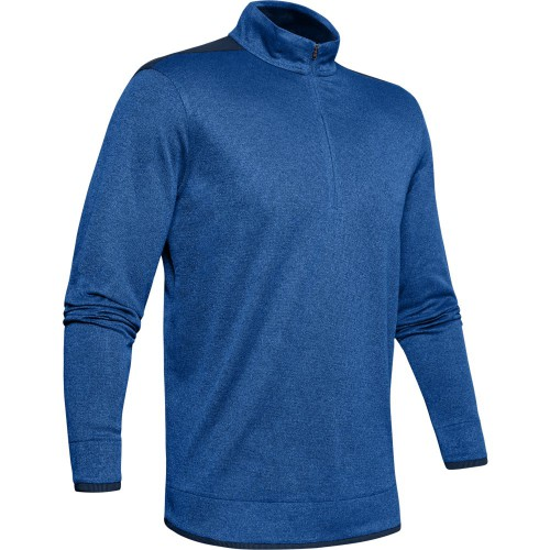 Under Armour 2020 Mens UA SweaterFleece 1/2 Zip Golf Top Pullover Jumper