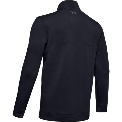 Under Armour Golf UA Storm PlayOff 1/2 Zip Golf Sweater  - Black